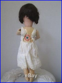 Antique France S. F. B. J French Doll 14 Marked 301 #3 Paris. Bisque/composition