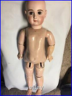 Antique French Bisque Bebe Jumeau, Incised Depose Model