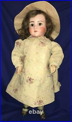 Antique French Bisque MyStErY Character Child, Steiner Body