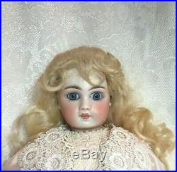 Antique French Closed Mouth EJ Jumeau Face Doll German Sonnenberg Belton 12