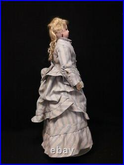 Antique French Fashion Doll on Leather Body, by Jumeau