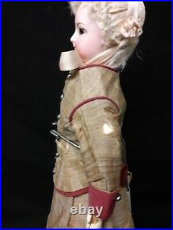 Antique French Fashion Doll with Antique Clothing