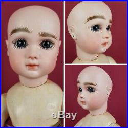 Antique French J. Steiner Figure A Bebe Bisque Head Doll Org Body Cabinet Size