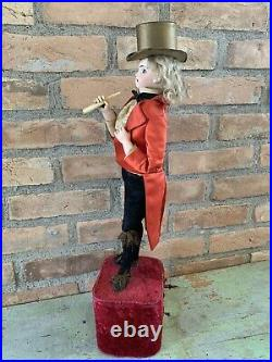 Antique French Leopold Lambert Smoking Automaton 1890s Excellent Condition Rare