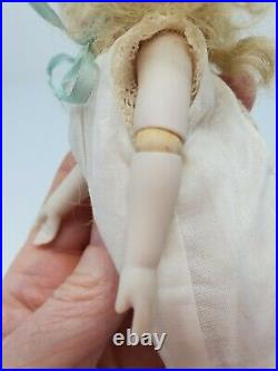 Antique French Mignonette Doll Sustrac Jointed Elbows Repro Darlene Lane UFDC