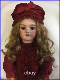 Antique French SFBJ Bisque Head Doll With S&H 1078 Head And Jumeau Body