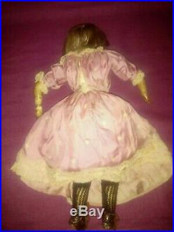Antique French very pale bisque fashion doll (period Jumeau, Gaultier)