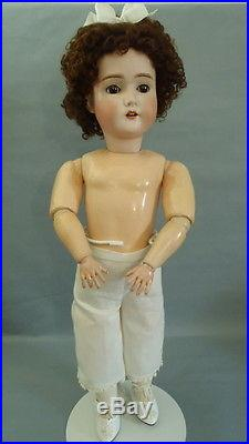 Antique George Borgfeldt German Bisque Doll My Girlie III Early 1900's 24 tall