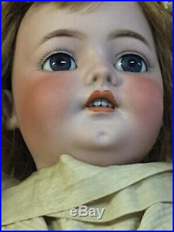 Antique German 27 Doll By Franz Schmidt, Head By Simon & Halbig