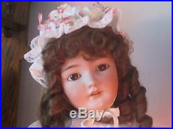 Antique German Bisque Doll 30 Simon & Halbig-1079 she is so Cute! Must See