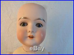 Antique German Bisque Doll Queen Louise 36 Needs Wig and Clothes