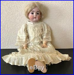 Antique German Bisque Early 20 KESTNER Doll with Original Clothes #167 VGC