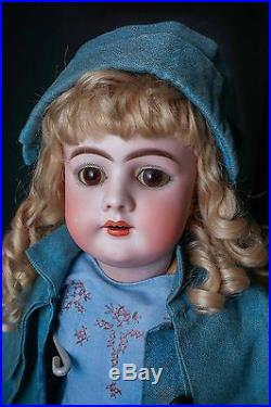 Antique German Bisque Handwerck 23 Fully Jointed Doll
