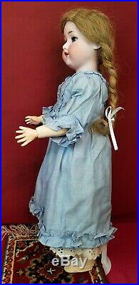 Antique German Bisque Head Doll Armand Marseille 390 A6M Jointed Body 22 Cute