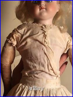Antique German Bisque Head Doll Kestner #9 Pouty Face 19 French Market 19thC