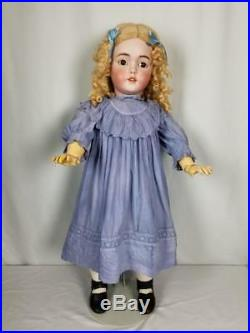 Antique German Bisque Head LARGE Doll By Simon Halbig 1249 known as SANTA 29