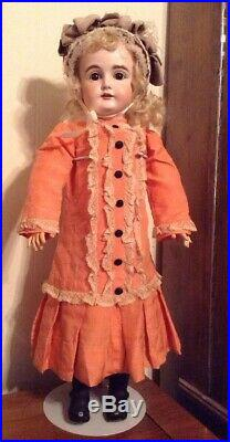 Antique German Doll 27 Inches Tall Kestner 164