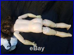 Antique German Doll Bisque Ball Joints Composition Body ARMAND MARSEILLE 27