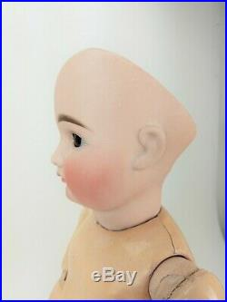Antique German Early Closed Mouth Kestner 14 Doll 21 ca1890