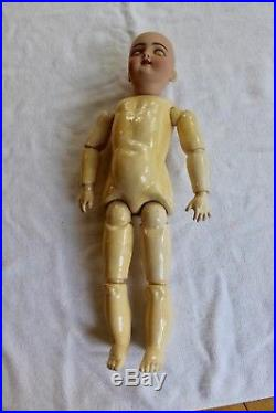Antique German Handwerck Bisque Doll Mold 109 French Bebe Look 18 Inch