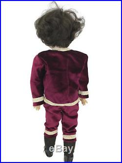 Antique German Porcelain Cuno & Otto Bisque Boy Doll Ball Jointed Body 1912 24