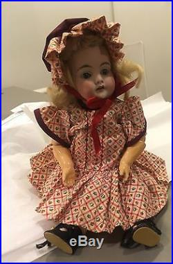 Antique German bisque 10 Kestner 143 doll ball jointed body beauty