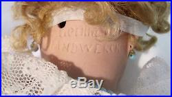 Antique Handwerck Bisque Doll Ball Jointed Body SE Teeth Pierced Ears Germany