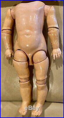 Antique Incredibly RARE 14 German Bisque Kestner 8 Ball Jointed Doll Body
