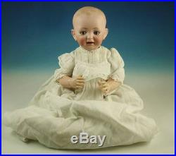 Antique JDK Kestner Baby Jean Bisque Head Character Doll 15 Solid Dome Germany