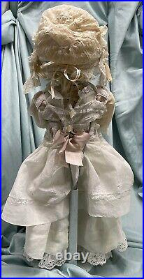 Antique Jules Steiner Gigoteur bebe doll PRETTY FACE! Large one 22 tall