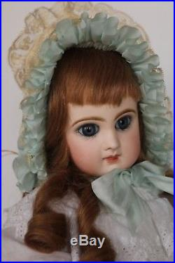 Antique Jumeau Bebe Reclaime French Doll Size 7 Antique French Bisque Doll 17