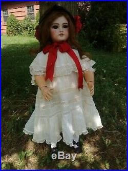 Antique Jumeau DEP Doll Size 12 28-29 Original French Body and Wig
