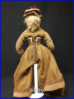 Antique Jumeau French Fashion on Leather Body