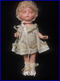 Antique Just Me Doll, Painted Bisque by Armand Marseille
