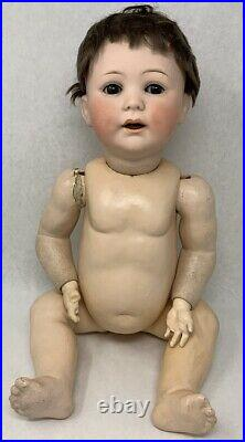 Antique Jutta Doll 1914 Bisque Head 12 1/2 with Vintage Clothing + 1 more doll