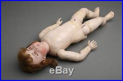 Antique KESTNER 15 Doll, Bisque Head, Composition Body, Pouty Mouth, with Costume