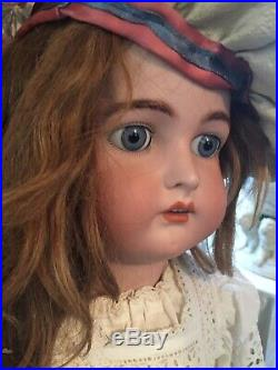 Antique Kammer & Reinhardt Doll 31, Head By Simon Halbig With W On Forehead