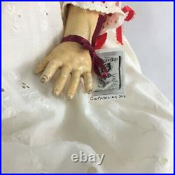 Antique Kestner 171 Blonde Bisque 31 Jointed body Doll with Dress Germany c1886