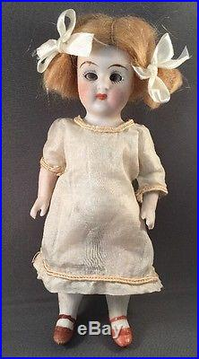 Antique Limbach Bisque Mignonette Cabinet Size Doll 6343 Germany Clover