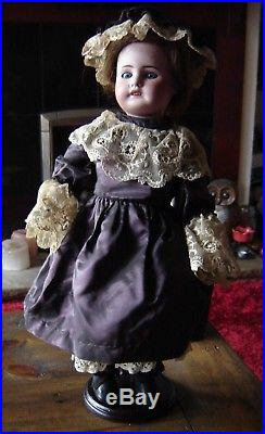 Antique Limoges France 6 doll. 16 tall. Bisque head on jointed composition body