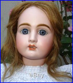 Antique Lovely Large Bebe Jullien Size 9 -21,65 Inches Perfect Condition