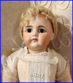 Antique RARE German Bisque Closed Mouth Doll 949 by Simon and Halbig All Orig