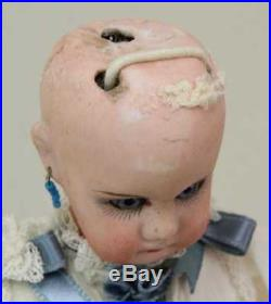 Antique RARE Tiny 10 1/2 Closed Mouth Belton #630 German Bisque Doll
