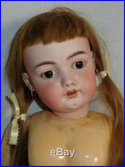 Antique S&H Simon and Halbig Large 1079 German Bisque Head Doll
