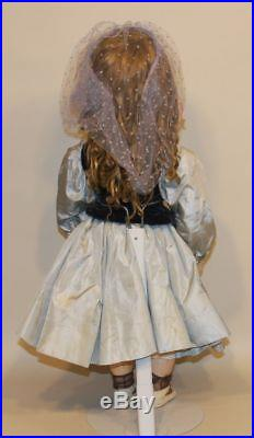 Antique Simon & Halbig SH 15 939 Bisque 26 Inch Closed Mouth French Child Doll