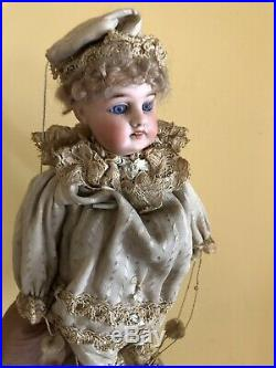 Antique doll Puppet Rare Musical Toy