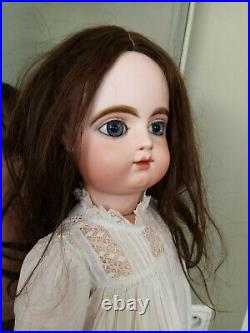 Antique french doll closed mouth Gaultier doll big eyes
