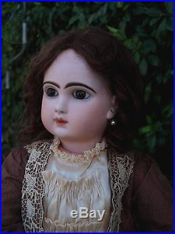 Antique jumeau doll bisque france french, size 12, 26.5 inc