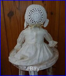 Armand Marseille Antique Doll 390 N Dr Gm 246 Bisque Head Made In Germany C 1900