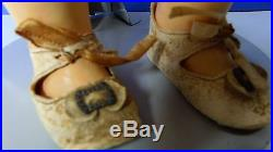 Bisque Head Halbig Sh Doll Germany Lg 24 Wood Ball Joint German Antique Toy Vtg